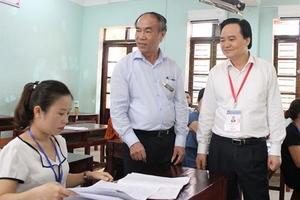 Sau sai phạm ở Hà Giang, Sơn La, chấm thi THPT quốc gia đã nghiêm hơn
