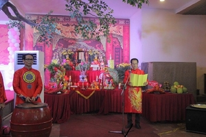 Hà Nội: Nghệ sỹ miền Bắc dâng hương tưởng nhớ Tổ nghề sân khấu