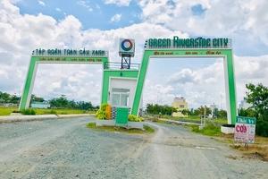 """Green Riverside City TP. Hồ Chí Minh: """"Hô biến"""" đất KCN thành dự án thương mại?"""