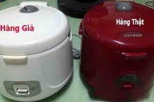Hết máy lọc nước, người tiêu dùng lại 'đau đầu' với nồi cơm điện giả