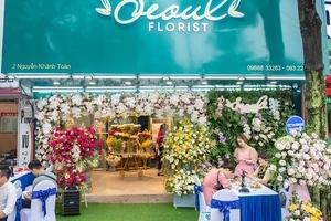 """Khai trương cửa hàng hoa tươi """"Seoul Florist"""": Uy tín chất lượng là vàng!"""