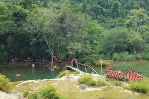 Khu du lịch Thác Mơ, Quảng Bình: Chưa được cấp phép vẫn ngang nhiên hoạt động?