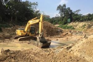Thị xã Hồng Lĩnh (Hà Tĩnh): Dự án chưa xong giải phóng mặt bằng đã tiến hành thi công