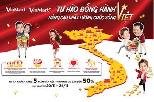 VinMart & VinMart+ siêu khuyến mại mừng sinh nhật 5 tuổi