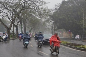 Thời tiết 17/10: Hà Nội mưa rào rải rác, sáng và đêm trời lạnh