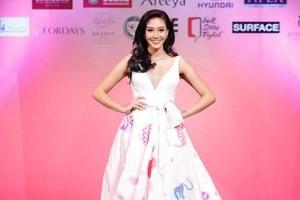 Hoa hậu Thái Lan mặc trang phục của trẻ tự kỉ tại Miss World 2018