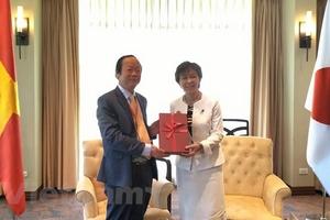 Nhật ủng hộ ưu tiên môi trường trong năm Việt Nam làm Chủ tịch ASEAN
