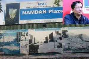 Đề nghị thu hồi dự án Nam Đàn Plaza liên quan đến Trịnh Xuân Thanh