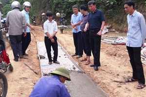 Văn Yên (Yên Bái): Những con đường ý Đảng lòng dân