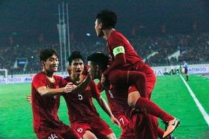 Thắng đậm Thái Lan 4- 0, Việt Nam thẳng tiến vào VCK U23 châu Á 2020