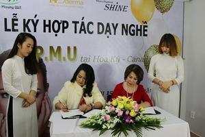 Nhãn hàng Shine và HD Derma: Hợp tác đào tạo với Beauty & Training Center Kieu Phuong USA