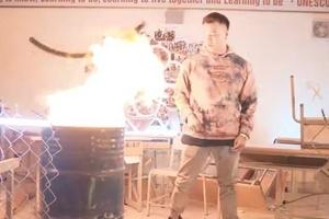 Yêu cầu xử lý thông tin về việc đốt sách vở học sinh Trường THPT Hà Nội
