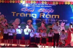 Trường Tiểu học Thị trấn An Dương (An Dương, Hải Phòng): Ấm áp mùa Trung thu