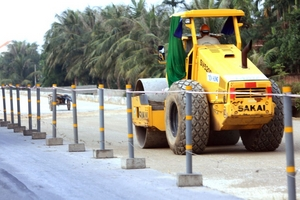 Gói thầu hơn 45 tỷ sửa chữa đường bộ tại Long An: 2 nhà thầu Hà Giang tự trượt