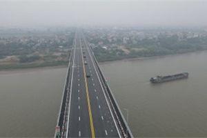 Video: Toàn cảnh cầu Thăng Long ngày thông xe