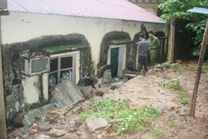 Sập tường nhà công vụ, 3 chiến sĩ Cảnh sát bị thương