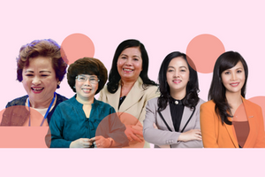 5 'nữ tướng' trong ngành ngân hàng Việt Nam