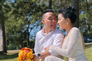 Chồng BTV Nguyễn Hoàng Linh đăng ảnh hạnh phúc bên vợ sau tin đồn đường ai nấy đi