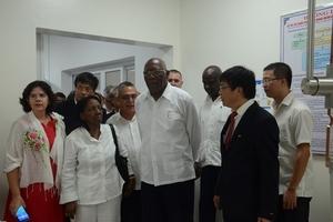 Đoàn đại biểu nước Cuba đến thăm Quảng Bình