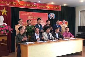 Phòng CSGT - Công an tỉnh Bắc Giang: Tổ chức ký cam kết không chở hàng quá khổ, quá tải