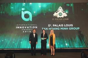 Dự án D'. Palais Louis của Tập đoàn Tân Hoàng Minh giành Giải thưởng sáng tạo đổi mới quốc tế 2019
