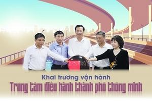 Khai trương Trung tâm Điều hành thành phố thông minh tỉnh Quảng Ninh