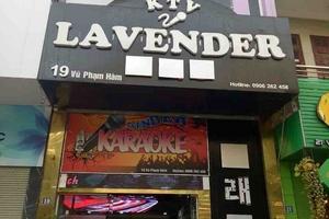 Hà Nội: Karaoke Lavender 19 Vũ Phạm Hàm bị phạt vì kinh doanh không phép