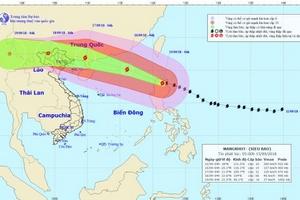 Siêu bão Mangkhut đã đổ bộ vào khu vực phía Bắc