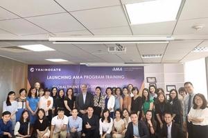 Trainocate đưa hệ thống chương trình đào tạo AMA tới Việt Nam