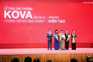 Trao Giải thưởng và học bổng KOVA lần thứ 16-2018