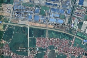 Thắng Thịnh Phát Bắc Ninh trúng dự án khu thương mại tại xã Long Châu