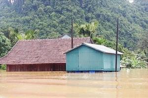 Quảng Bình: Xây dựng 58 nhà bè vượt lũ cho người dân xã Tân Hóa