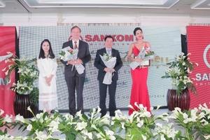 Sankom Thụy Sĩ ra mắt thương hiệu tại Việt Nam