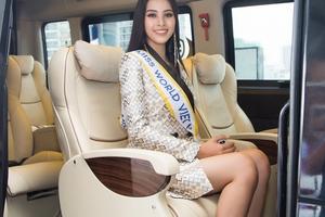 Hoa hậu Tiểu Vy 'mất điểm' trước giờ lên đường tham dự Miss World 2018