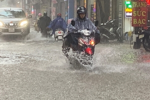 Dự báo thời tiết 24.8.2019: Trung bộ mưa to ảnh hưởng từ bão Bailu