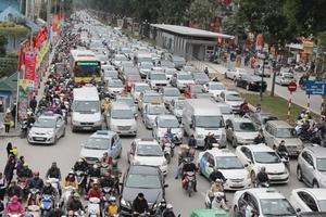 Hà Nội dự kiến năm 2030 sẽ thu phí phương tiện vào nội đô