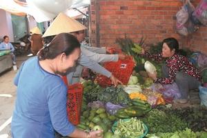 Cửa hàng nông sản nói không với túi nilon