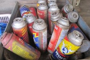 Cảnh báo nguy hiểm khi sử dụng bình gas mini cũ