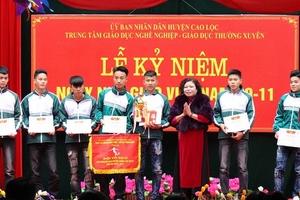 Trung tâm GDNN - GDTX Cao Lộc: Điểm đến của những học sinh dám mơ ước