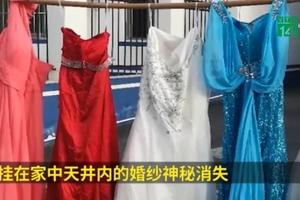 Người đàn ông ăn cắp váy cưới để cảm thấy mình vẫn có vợ