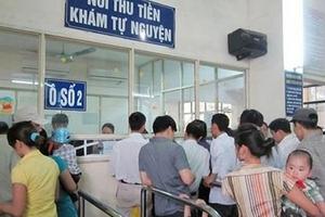 Bộ Y tế 'áp trần' giá khám bệnh dịch vụ tại các bệnh viện