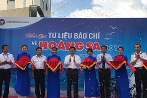 """Triễn lãm """"Tư liệu báo chí về Hoàng Sa"""" tại Đà Nẵng"""