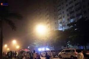 Cháy chung cư tại thành phố Vinh, Nghệ An