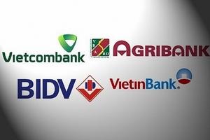 Soi cơ cấu nợ xấu các 'ông lớn' ngân hàng Agribank, BIDV, Vietcombank và VietinBank