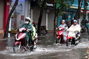 Thời tiết ngày 27/5: Bắc Bộ và Bắc Trung Bộ có nơi mưa rất to, rải rác có dông