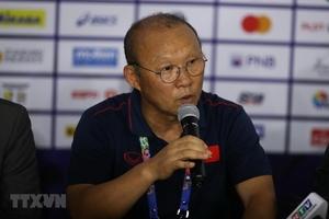 HLV Park Hang-seo chưa rõ về chấn thương của Nguyễn Quang Hải