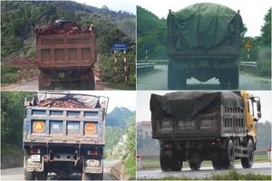 """Vụ """"xe quá khổ chạy ngang nhiên"""" ở Quảng Bình: Cơ quan chức năng nói gì?"""