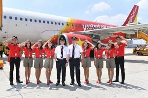 Vietjet tung hàng triệu vé máy bay giá hấp dẫn đón Tết Nguyên Đán 2019