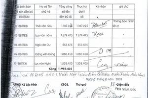 Bạc Liêu: Thanh tra vào cuộc vụ cán bộ làm giả giấy ủy quyền để chiếm đoạt tiền đền bù dự án