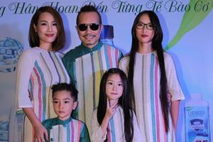 Jimmii Nguyễn cùng bạn gái ra mắt nước uống Lamaqua